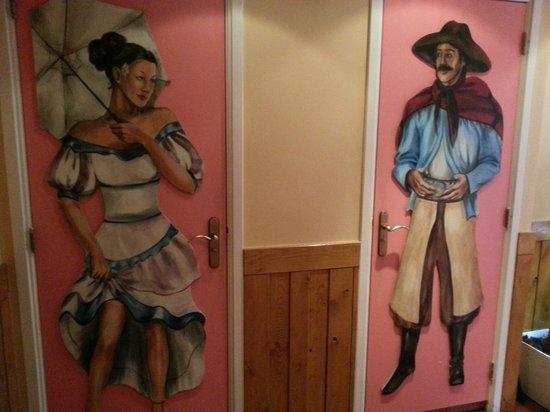 Ristorante Trattoria La Stego : Вход в туалеты на третьем этаже здания