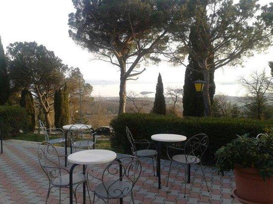Hotel La Cima Trasimena : Panorama