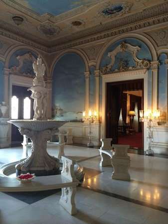 Taj Falaknuma Palace : Foyer