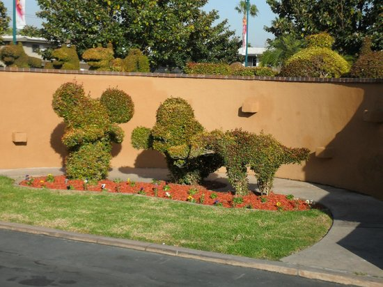 Best Western Plus Stovall's Inn : Topiary