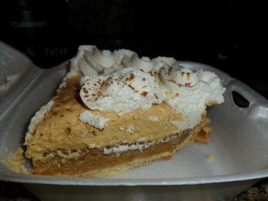 Best Western Plus Stovall's Inn : Pumpkin Harvest Pie at Coco's