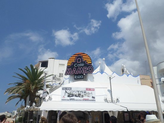 Cafe Mambo : Perfect atmosphere