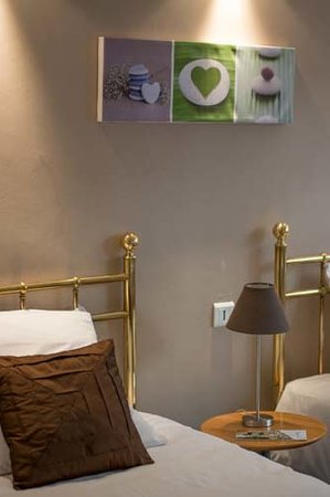 Hotel Athenee Cannes: Chambre twin
