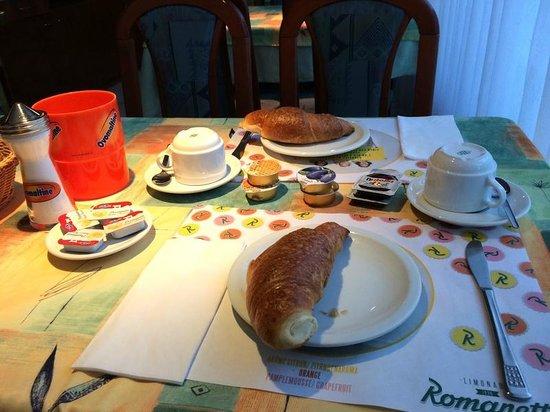 Gamper - Albergo Ristorante-Pizzeria: Континентальный завтрак