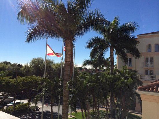 Hilton Naples: Blick aus dem Zimmer