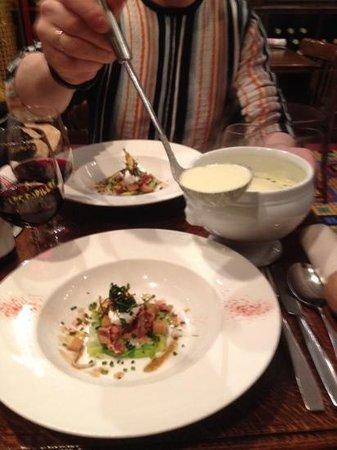 Les Papilles : суп наивкуснейший