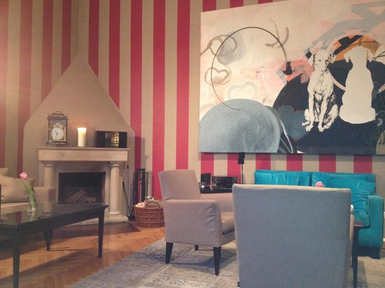 Hotel Altstadt Vienna: Salón para tomarse un te , descansar y relajarse