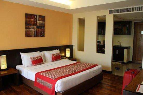 Aonang Cliff Beach Resort: Вид от окна