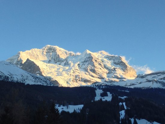 Hotel Regina: Jungfrau mountain