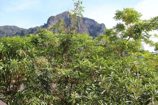 Aonang Cliff Beach Resort: Вид с балкона
