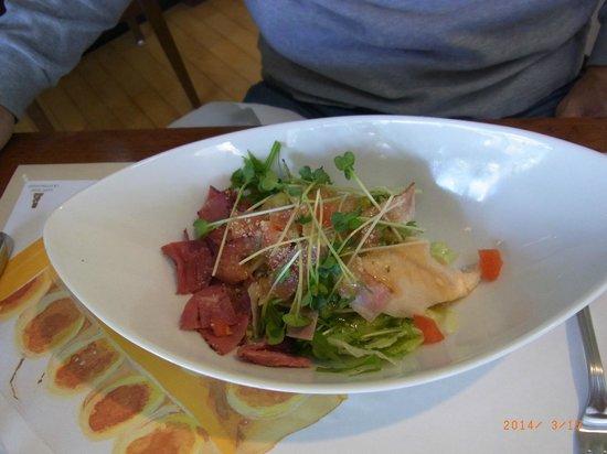 Bakery Restaurant Saint Marc Chofu Jindaiji: choice of salad