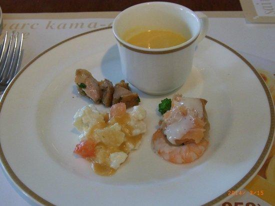 Bakery Restaurant Saint Marc Chofu Jindaiji: appetizer