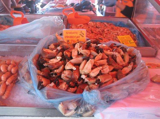 Fish Market : Берген. Рыбный рынок.