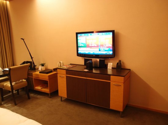 The T Hotel: Large LCD Tv
