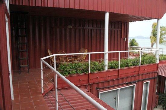 The Ocean Residence Langkawi: The balcony