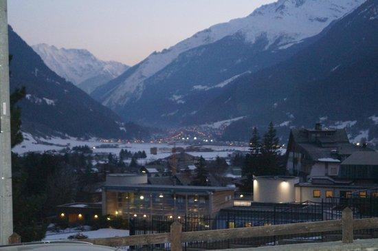 Hotel Terme Bormio: Vista dalla camera 2