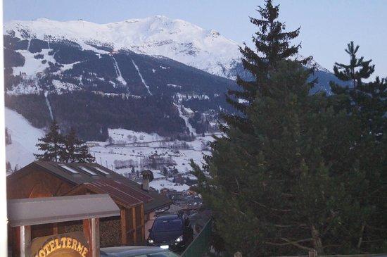 Hotel Terme Bormio: Vista dalla camera 1