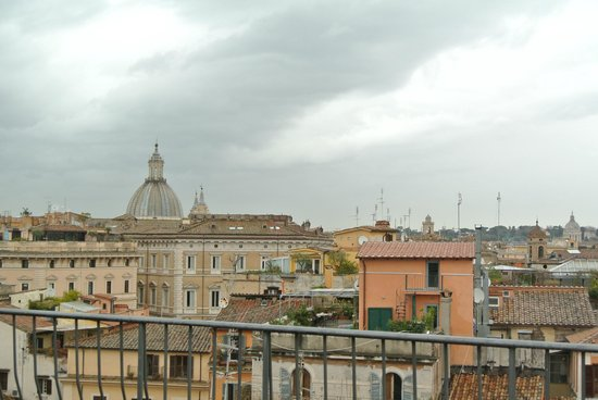 Boutique Hotel Campo de Fiori: View of Rome from the roof-top