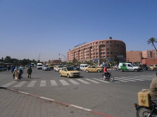 Riad Asrari: modern cit outside the walls