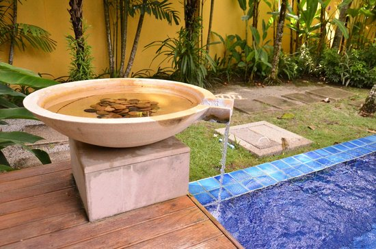 Two Villas Holiday, Oriental Style Layan Beach : Swimming pool