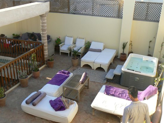 Riad Chbanate: coin spa