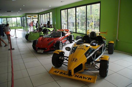 Nong Nooch Tropical Botanical Garden: Das Automuseum.