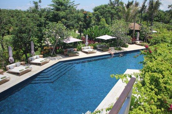 RIMBA Jimbaran BALI by AYANA : Main pool from above