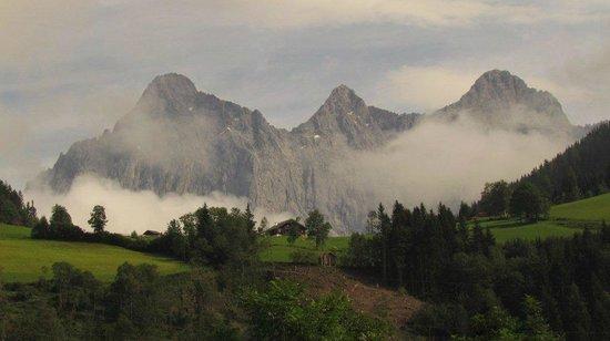 Hotel Gasthof Taferne: Ausblick von Zaimhütte