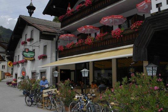 Hotel Gasthof Taferne: Terrasse