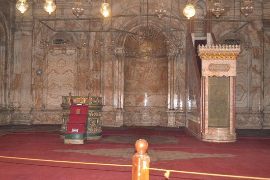 Egypt Tailor Made Day Tours : Inside Mohammad Ali's Mosque