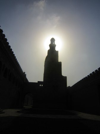 Egypt Tailor Made Day Tours : Fantastic picture that guide Massimo took at Mosque Ibn Tulun
