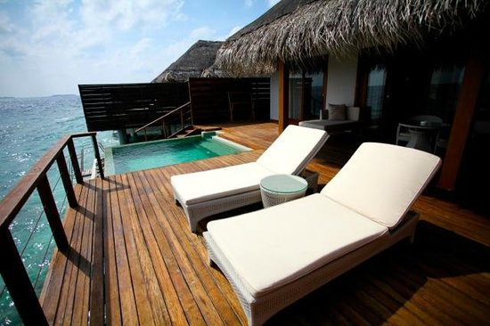 Dusit Thani Maldives: Private Infinite Pool