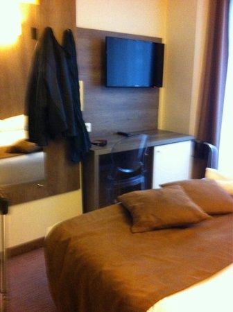 Hôtel Le Seize : Je m'installe chambre simple