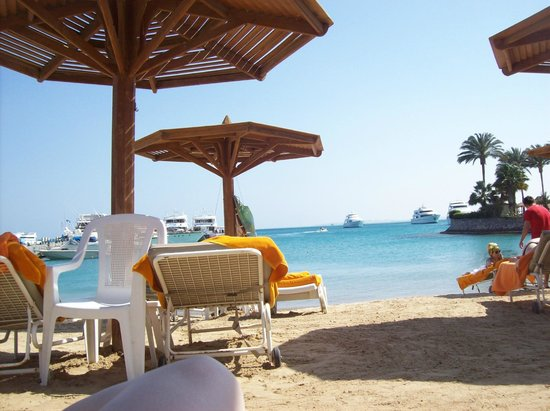 Hurghada Marriott Beach Resort: On the beach