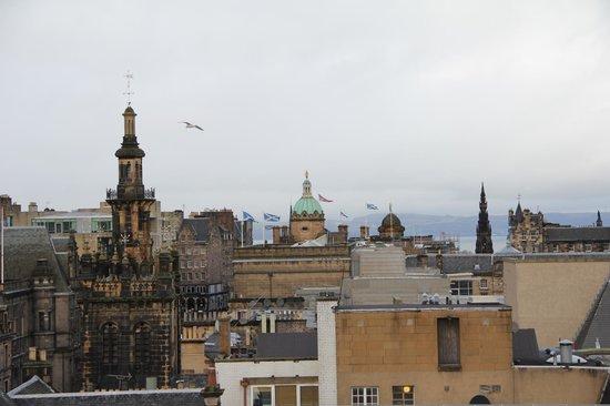 Museo Nacional de Escocia: Один из открывающихся видов с террасы