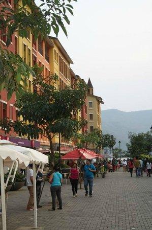 The Waterfront Shaw, Lavasa : Hotel Promenade