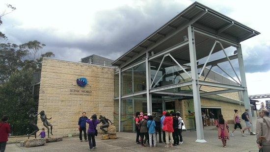 Scenic World Blue Mountains: Main entrance