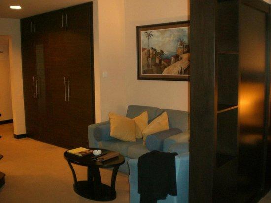 Al Manzel Hotel Apartments : Living Room