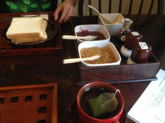 Ryokan Sawanoya : breakfast!