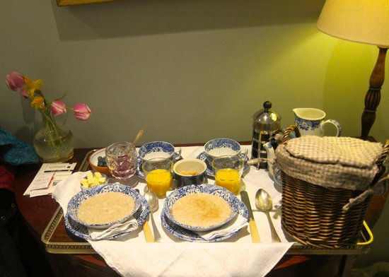 The Guest Room: The lovely breakfast