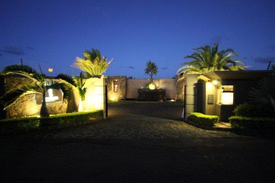 Les Villas Athena: Entree Villa Athéna