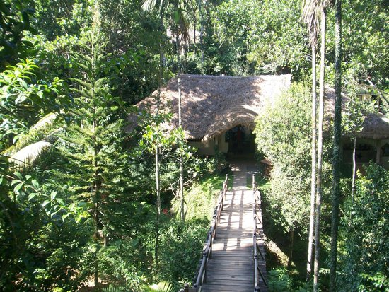 Shalimar Spice Garden - An Amritara Private Hideaway: View down to Reception