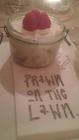 Prawn on the Lawn: Lemon Posset