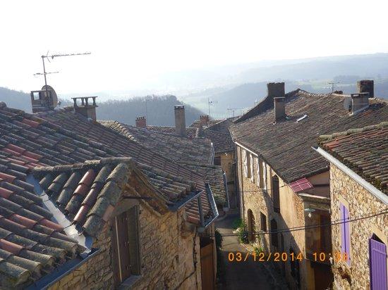 Chez Delphine : cascade de toits