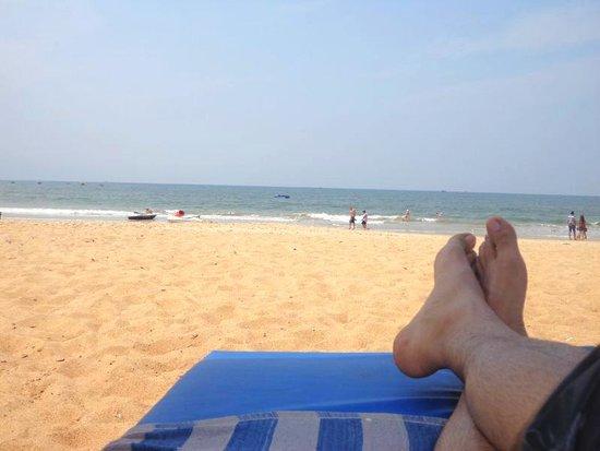 Estrela Do Mar Beach Resort: on the beach.