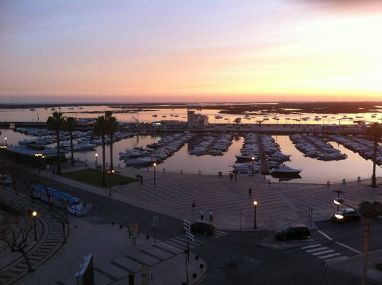 Hotel Faro: Marina from the Terrace