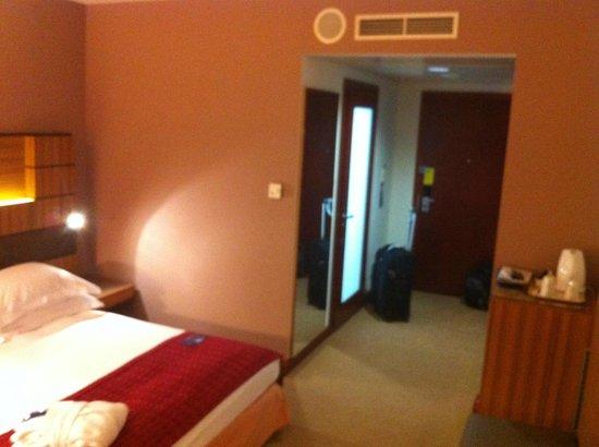 Radisson Blu Hotel Krakow: The entrance to the room