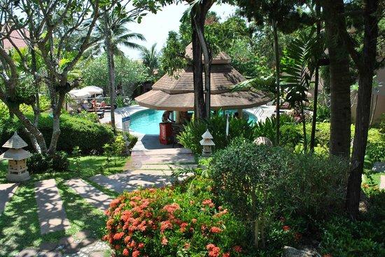 Andaman Cannacia Resort: bar piscine
