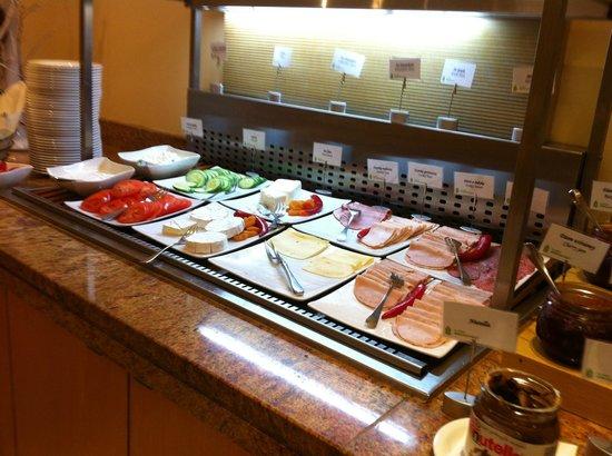 Radisson Blu Hotel Krakow: The breakfast buffet