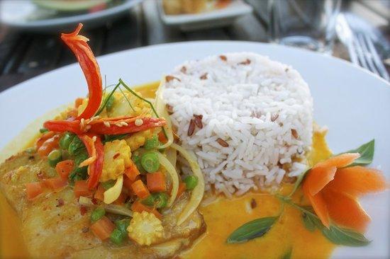 Beachlounge - Thong Sala: Deliciosa Barracuda, la recomiendo.